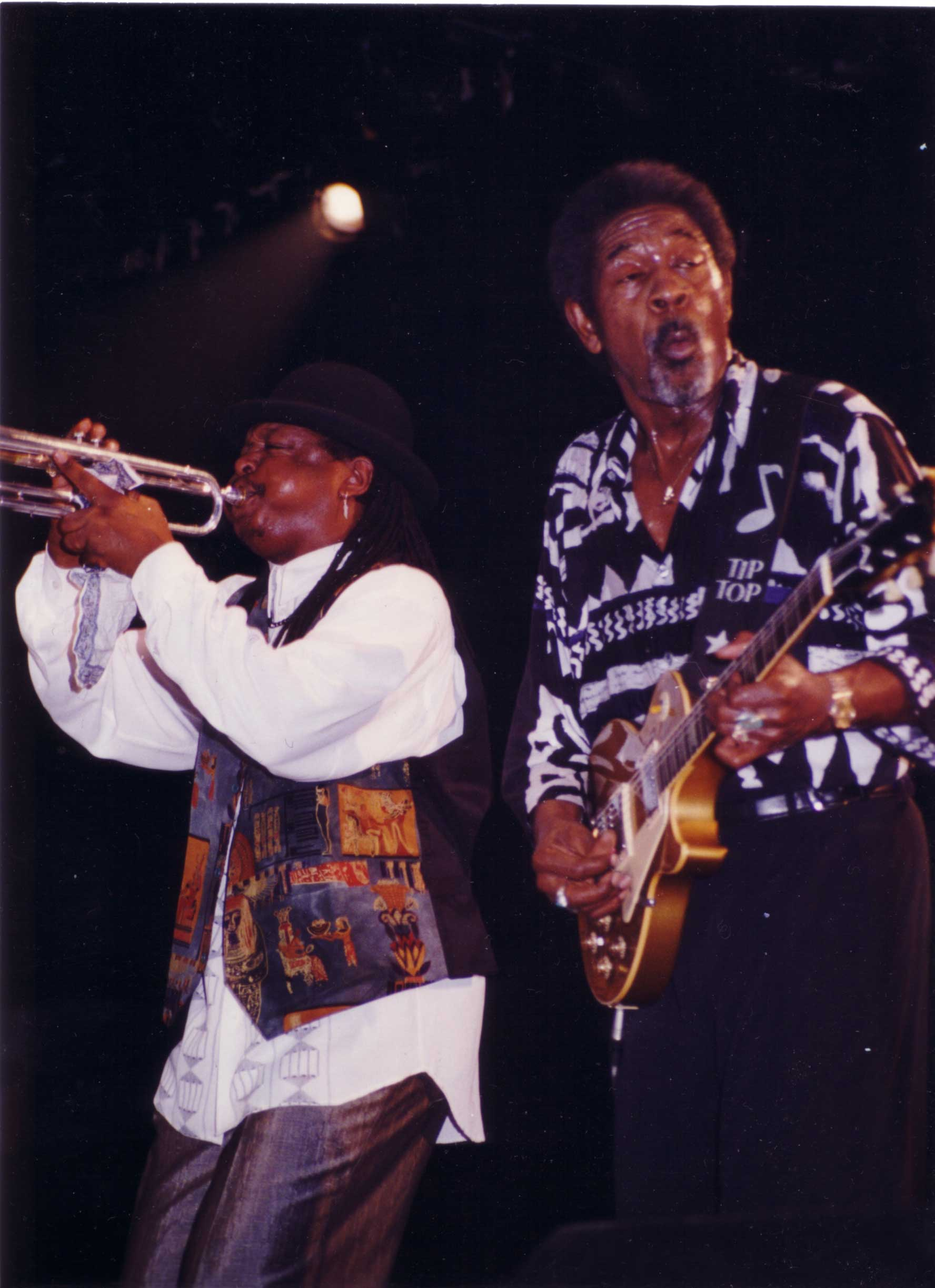 Boney & Luther ALLISON © Bram EUBANKS