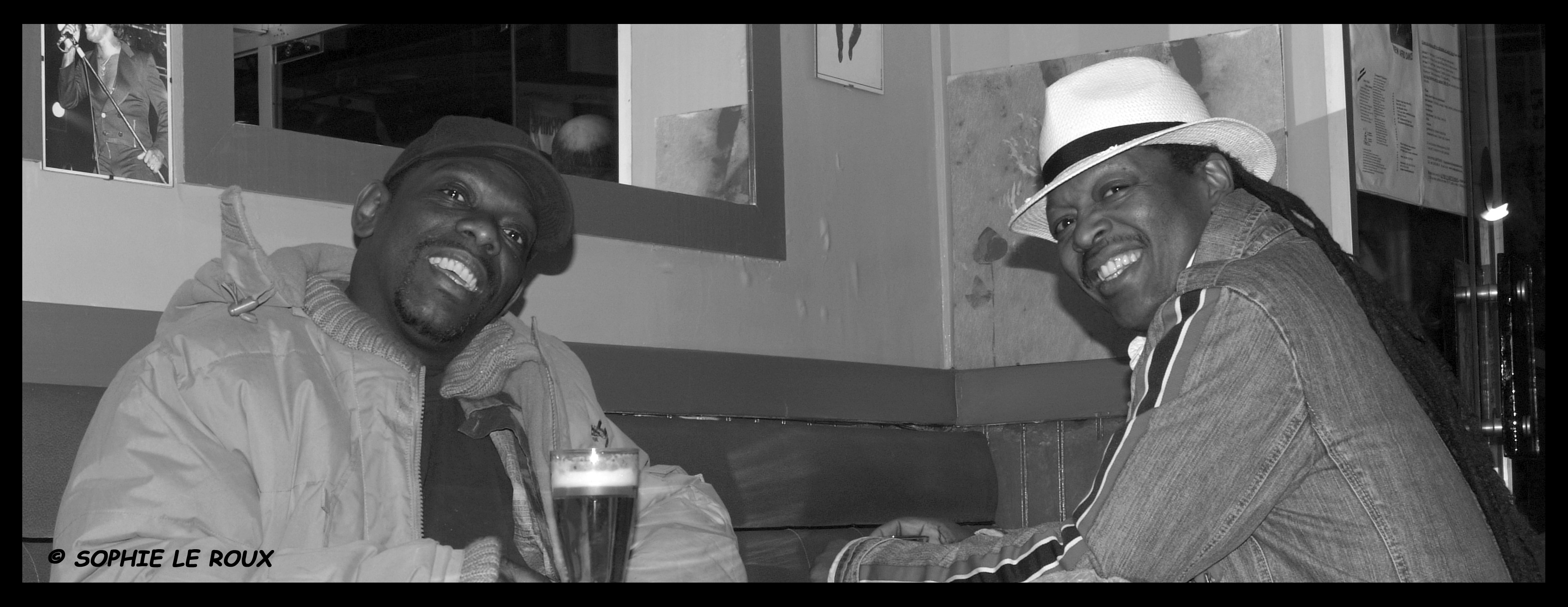 Boney & Lucky PETERSON © Sophie LEROUX