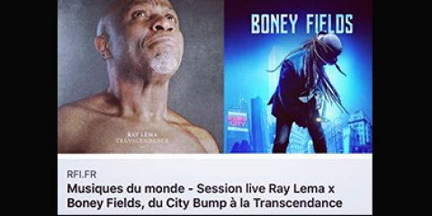30 March 2019 - Boney FIELDS Live at RFI Les Musiques du Monde (Radio France International)