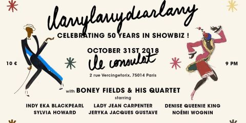 31 Oct 2018 - Boney FIELDS Quartet celebrates Larry VICKERS 50 years in ShowBiz - Le Consulat (PARIS - France)