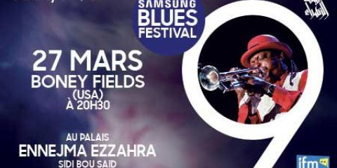 27 March 2018 | SAMSUNG BLUES FESTIVAL (SIDI BOU SAID - Tunisia)