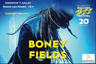 Boney Fields  Barriére Enghien Jazz Festival